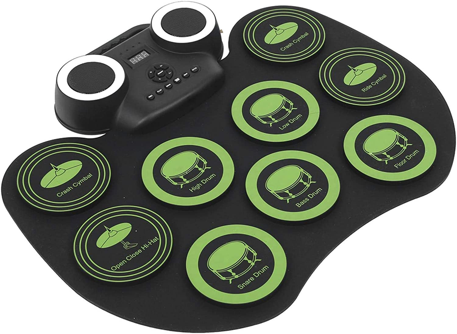 Electronic Max 55% OFF Drum National products Set Pad Type‑C USB Interface