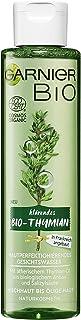 Garnier Bio Gesichtswasser Thymian Öl Gesichtsreinigung, Naturkosmetik, Thymian Hautperfektionierendes Gesichtswasser 1 x 150 ml