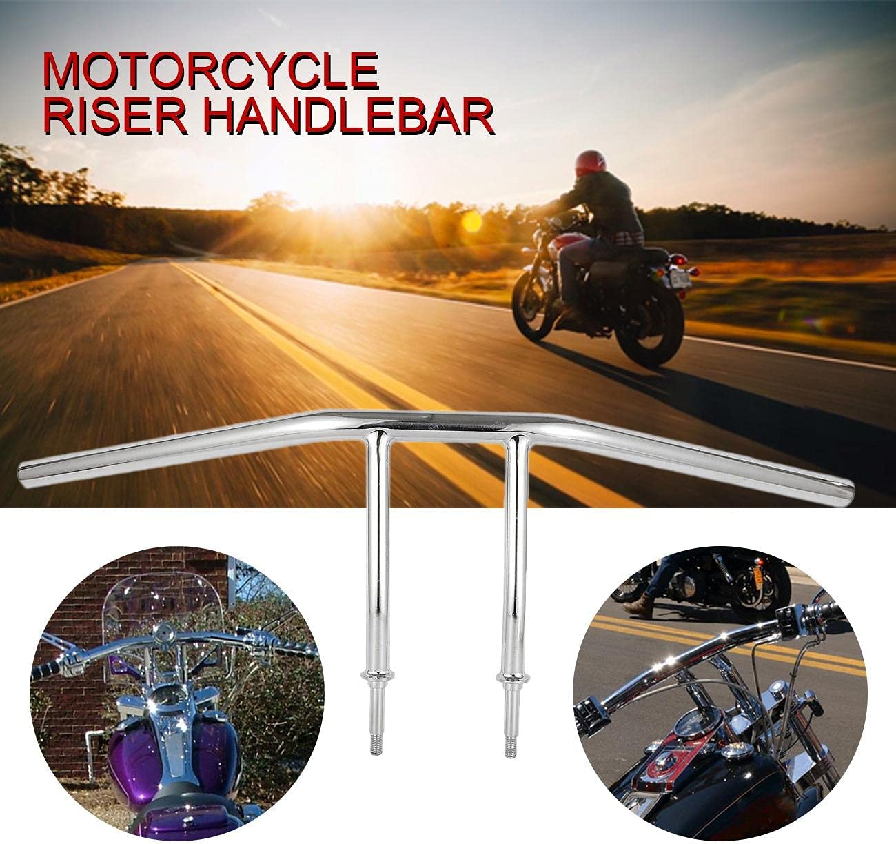 OXMART Motorcycle Handlebars Super beauty product restock quality Houston Mall top Chrome 1