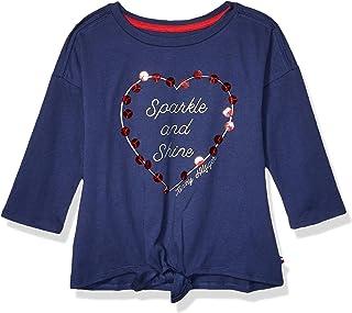 Girls' Long Sleeve Flippable Sequin Tee Shirt