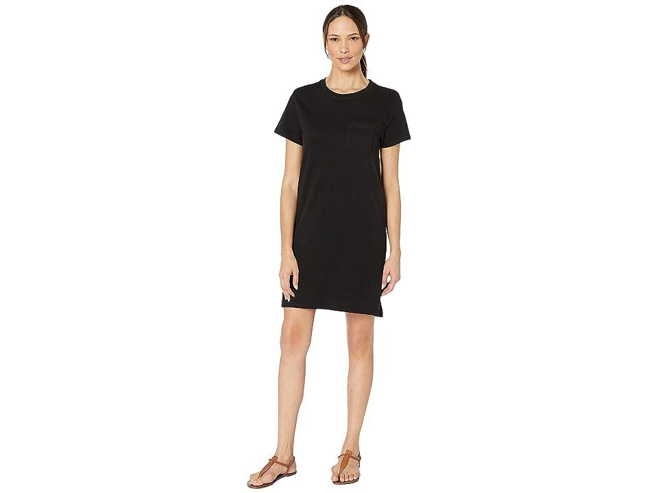 PACT T-Shirt Pocket Dress (Black) Women