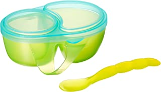 Sassy 1st Solids Feeding Bowl with Spoon, Assorted Colors