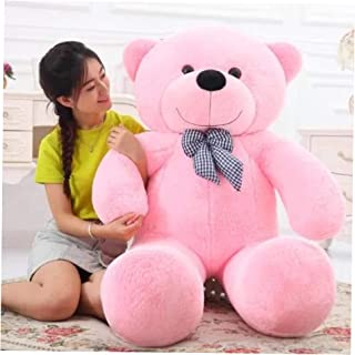 Pink-160cm Giant Teddy Bear Large Plush stuffed Toys Doll Birthday Gift for Kids/Girlfriend/Wife