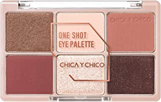 [CHICA Y CHICO] One shot eye palette series, mat, shimmer, glitter, vivid pigmentation, soft texture, long lasting, 9g (nightred)