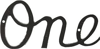 enamel house number sign