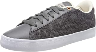 adidas Neo Womens Cloudfoam Daily QT Clean Lace Up Low Rise Trainers Shoes- Grey