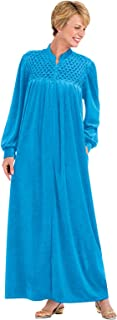 Best velour robe with zipper Reviews