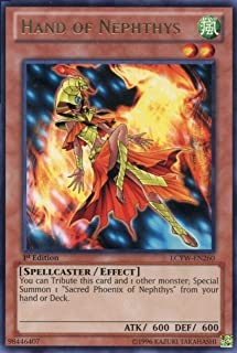 Yu-Gi-Oh! - Hand of Nephthys (LCYW-EN260) - Legendary Collection 3: Yugi's World - 1st Edition - Rare