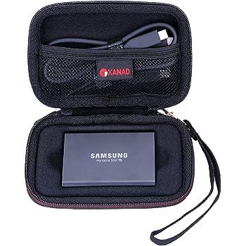 XANAD Estuche rígido de Viaje para Samsung T5 y t3 Disco Estado ...