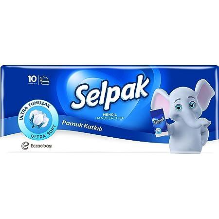 Selpak Pocket Hanky Tissue Classic - 10 Sheets/Piece