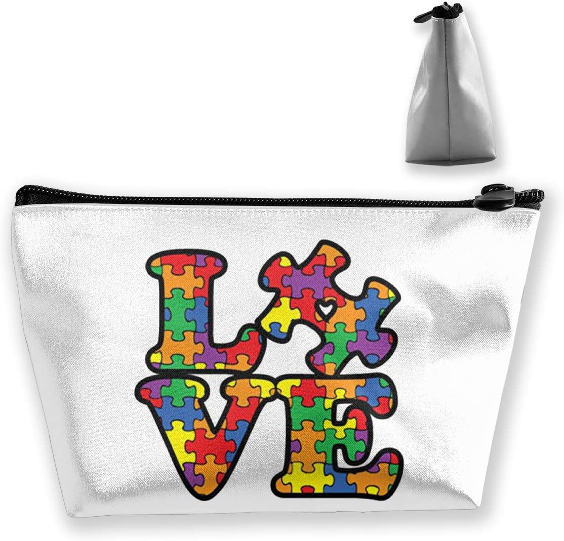 Autism Awareness Makeup Bag