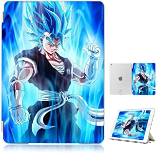 (For iPad Generation 5 6/iPad 9.7 inch 2017 & 2018 Version) Smart Case Cover - A30324 Dragon Ball Goku