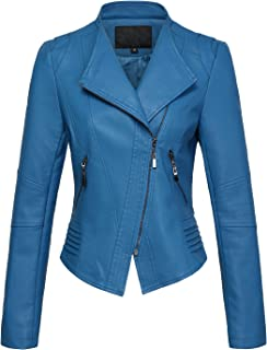 02a45851fd03 Amazon.com  Blues - Leather   Faux Leather   Coats