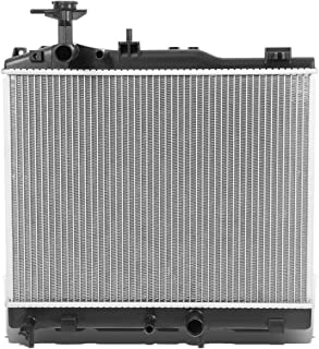 DNA Motoring OEM-RA-13469 13469 Factory Style Aluminum Cooling Radiator Replacement