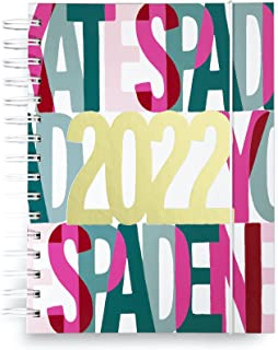 $27 » Kate Spade New York Large 2022 Planner Weekly & Monthly, 12 Month Hardcover Agenda Dated Jan 2022 - Dec 2022, Personal Org...