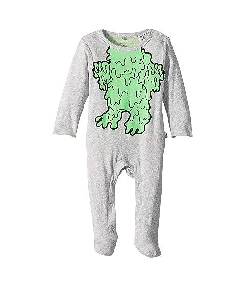 Stella McCartney Kids Twiddle Slime Monster Footie (Infant)