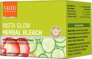 VLCC Insta Glow Herbal Bleach, 27.5gms