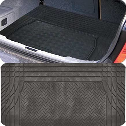 Black Heavy Duty Rubber  amp apos Trim fit amp apos  Boot Protection Liner Mat for Tourer  2012 amp gt