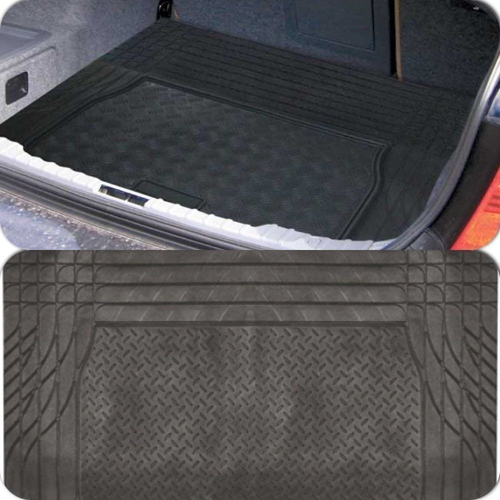 MP Essentials Black Heavy Duty Rubber Trim to fit Boot Protection Liner Mat for Porsche Macan 2014