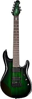Sterling By MusicMan 7 String Sterling by Music Man, JP70, John Petrucci Signature Guitar, Trans Green Burst, JP70-TGB)