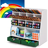 DF Darfoo Pen Pencil Organizer for Desk Cute Desktop Organizer Deals