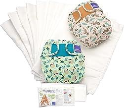 Bambino Mio, mioduo cloth diaper set, rainforest a, size 2 (21lbs+)
