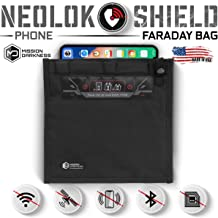 Mission Darkness Small NeoLok Faraday Bag with Magnetic Closure // Cell Phone Size Device Shielding for Law Enforcement & Military, Travel & Data Security, Anti-Hacking & Anti-Tracking Assurance