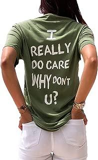 LeRage I Really Do Care Why Don't U? Melania's Jacket Shirt Activist Shirt Women's