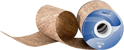 """new arrival Cork Pattern Poly Satin Waterproof Print Ribbon 4"""" (#100) Floral & Craft Decoration, 50 Yard Roll (150 FT Spool) new arrival Bulk, outlet sale by Royal Imports, Cork sale"""