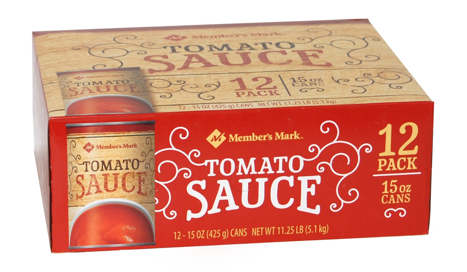 Member's Mark free Tomato Sauce 12 15 Cans Ounce Special Campaign -