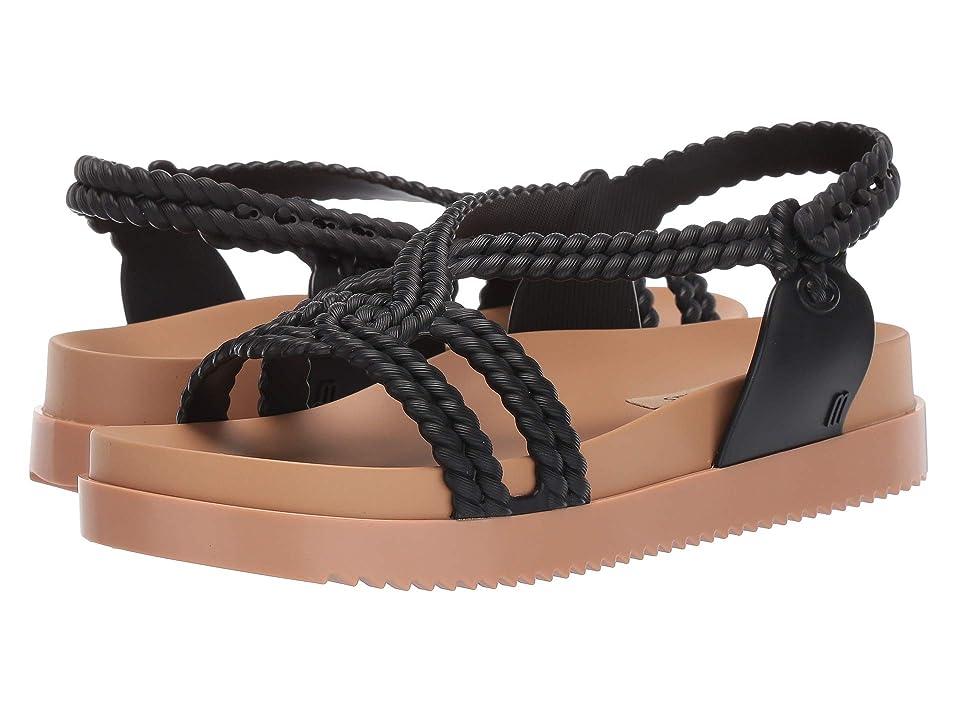 Melissa Shoes Cosmic Sandal + Salinas (Beige/Black) Women