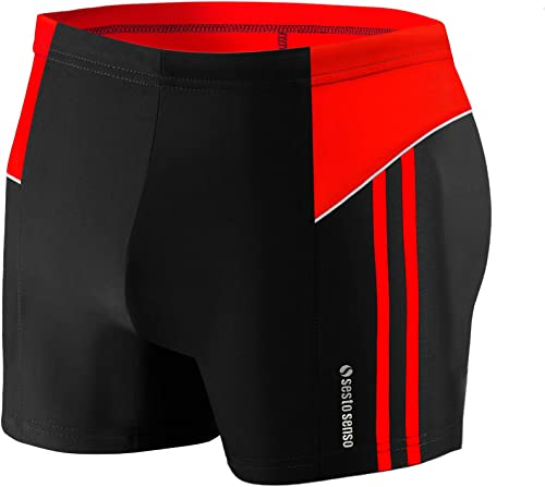 Sesto Senso Maillot de Bain Homme Boxer Trunks Shorts Pantalon Slips Natation de Sport