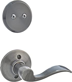 Schlage F94-ACC-LH Accent Lever Left Handed Dummy Interior Pack from the F-Serie, Antique Pewter