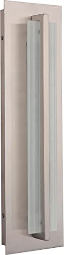 """high quality Craftmade 2021 discount Z3612-SS-LED Allure Modern Outdoor LED Pocket Sconce, 1-Light, 16 Watt, Stainless Steel (18""""H x 5""""W) online"""