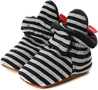 oenbopo Infant Toddler Winter Boots Soft Anti-Slip Warm Baby Kids Boots Prewalker Boots