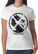 Women Sub-Zero-Mortal-Kombat- Tshirt Short-Sleeve Cotton