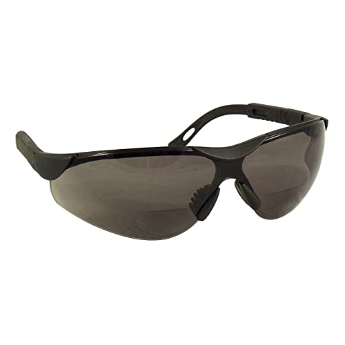 11cca0547345f SafeSpecs Bifocal Safety Glasses with Adjustable Temples - Bifocal  Sunglasses - Safety Sunglasses - ANSI Z87