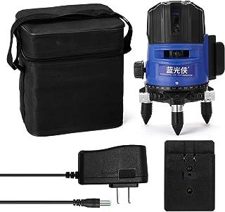 Sunbaca Teclas tocadas Multifuncional 5 Green Line Leveler Instrumento de medição de nível de autonivelamento de 360 graus
