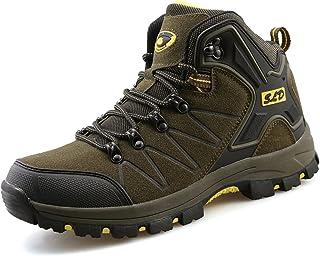 TQGOLD® Chaussures de Randonnée pour Homme Femme Bottes de Marche Imperméable Mountain Montantes
