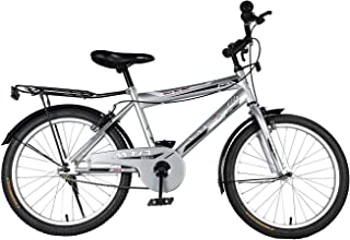 "Vaux Bicycle for Kids- Vaux Plus 20T Kids Bicycle for Boys. Ideal for Cyclist with Height (3'11"" – 4'3"") – Silver."