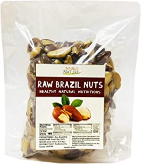 Beyond Nature, [Vacuum Sealed] Superior to Organic Brazil Nuts, 2 LB