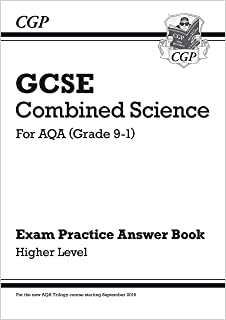 GCSE Combined Science: AQA Answers (for Exam Practice Workbook) - Higher