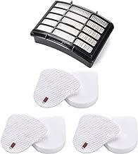 3 Pack Filters for Shark Navigator Lift-Away NV350, NV351, NV352, NV355, NV360, NV370, UV440, UV490, UV540 vacuum- XFF350 XHF350 By Artraise