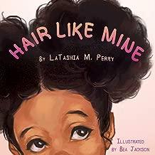 curly hair children's book