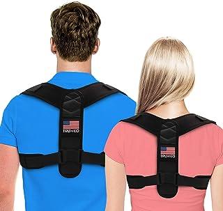 اصلاح کننده وضعیت استقرار زنان و مردان توسط Truweo - USA برای حمایت از پشت گردن ، پشت ، شانه و وضعیت بد پشتی - پشتیبان پشتیبانی Clavicle را طراحی کرد.
