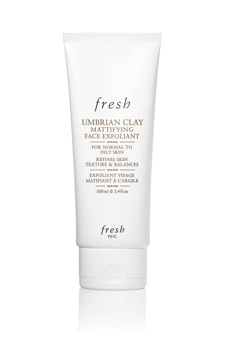夫軌道枯れるフレッシュ Umbrian Clay Mattifying Face Exfoliant (Normal to Oily Skin) 100ml [海外直送品]