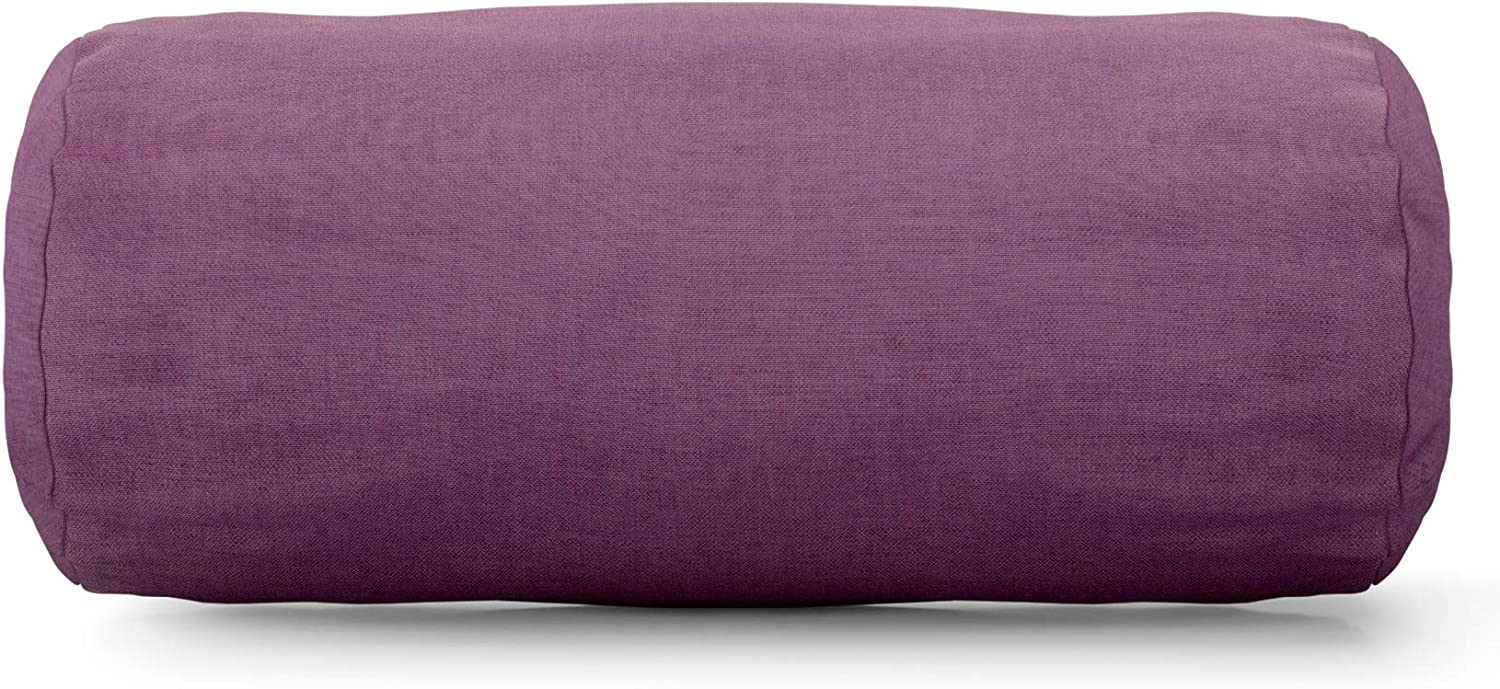 Majestic Home purplec Round Bolster Pillow
