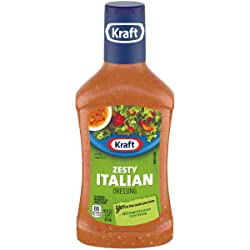 Kraft Zesty Italian Dressing and Marinade, 16 Ounce