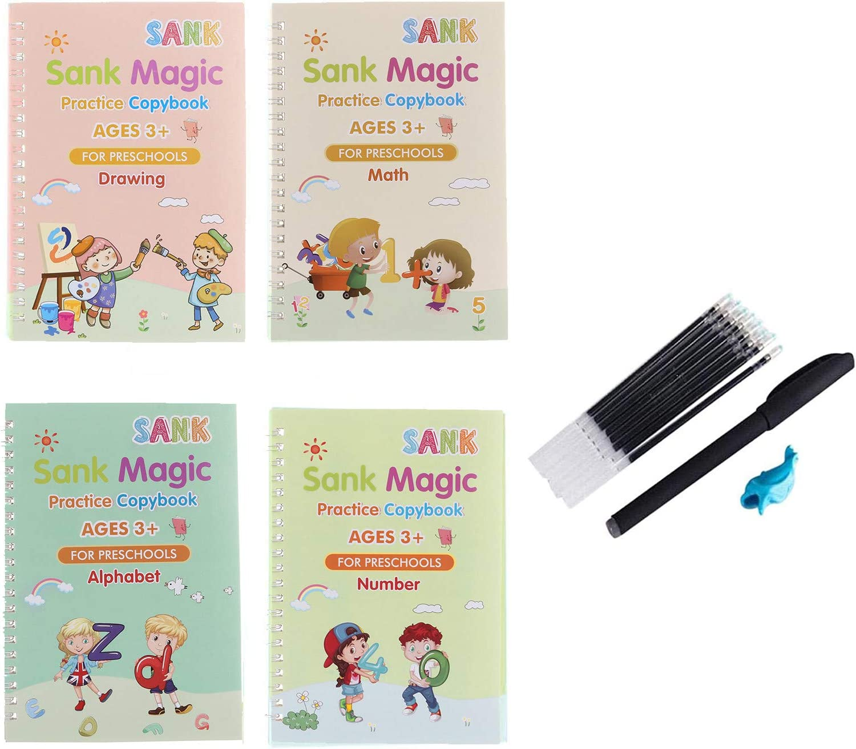 Rapid rise Sank Magic Practice Copybook Number Book for Popularity Tracing Preschoole