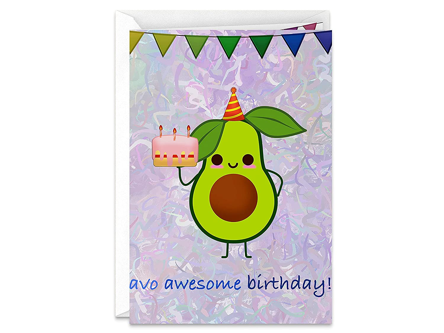 Have Direct store an Awesome Birthday Brand new Avocado themed Party Han Happy